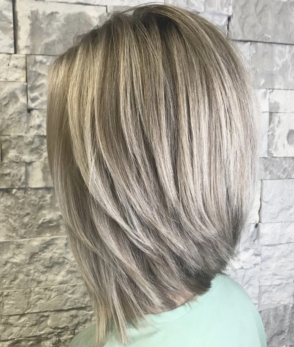 Most Popular Long Inverted Bob Hairstyles - LatestHairstylePedia.com