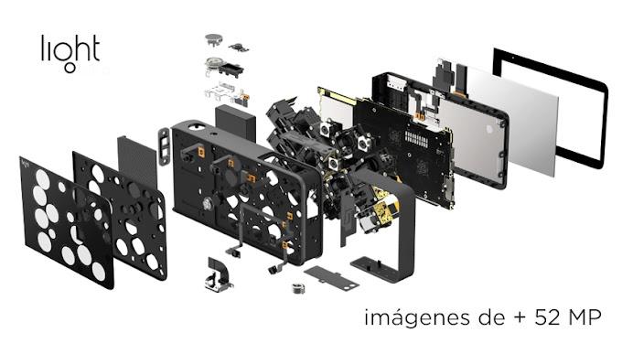 16 cámaras en una sola, + 52 Megapixeles. Light, la cámara DSLR en la palma de tus manos