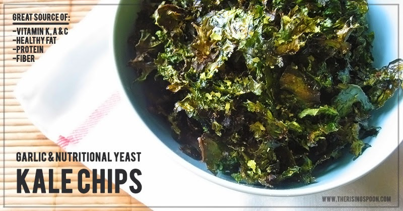 How to Make Kale Chips | www.therisingspoon.com