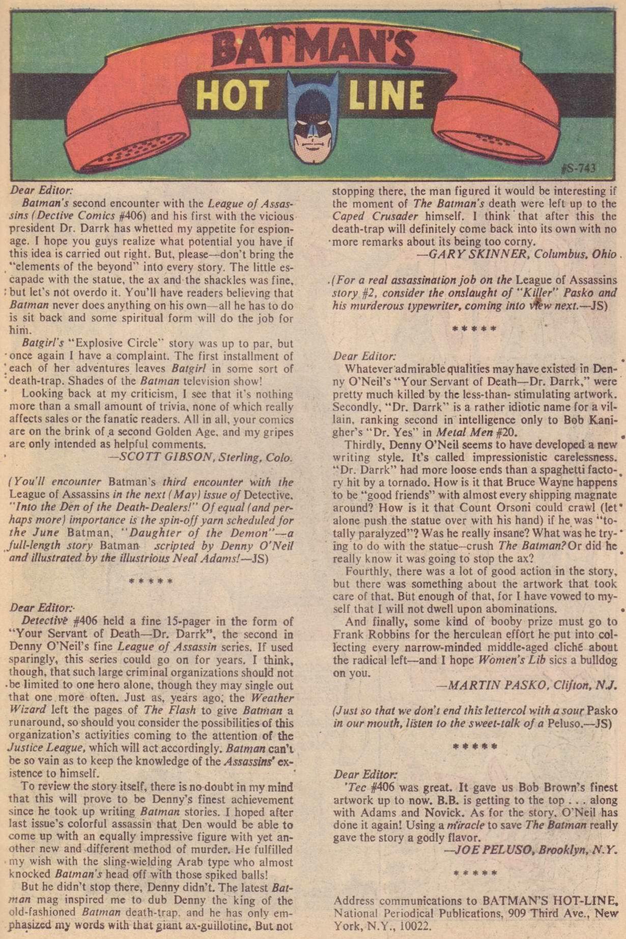 Detective Comics (1937) 410 Page 22