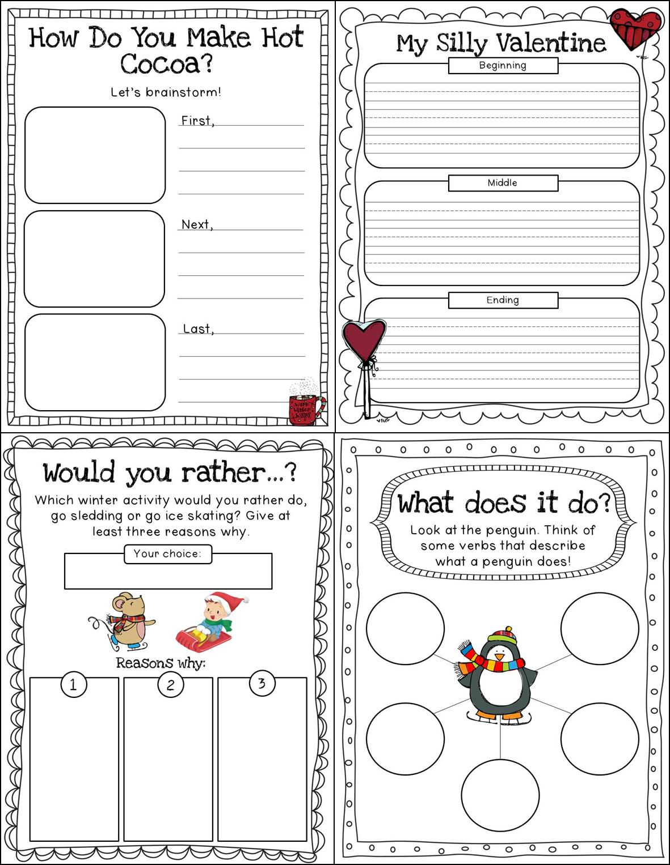 *Christmas Activities 2nd Grade: Christmas Writing