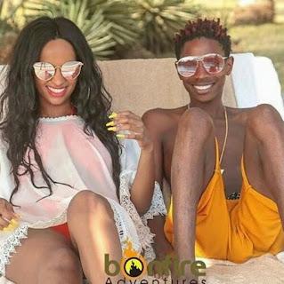 Kenyan star's viral vacation photo sparks hilarious challenge