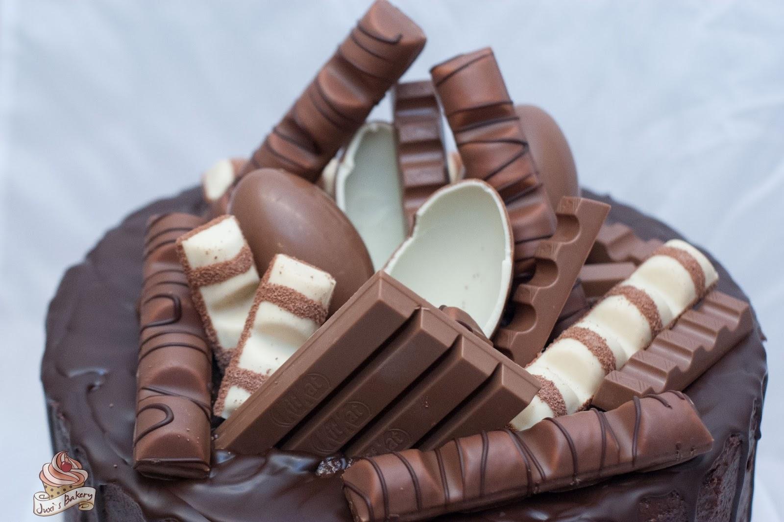 Juxi S Bakery Kinder Schoko Torte
