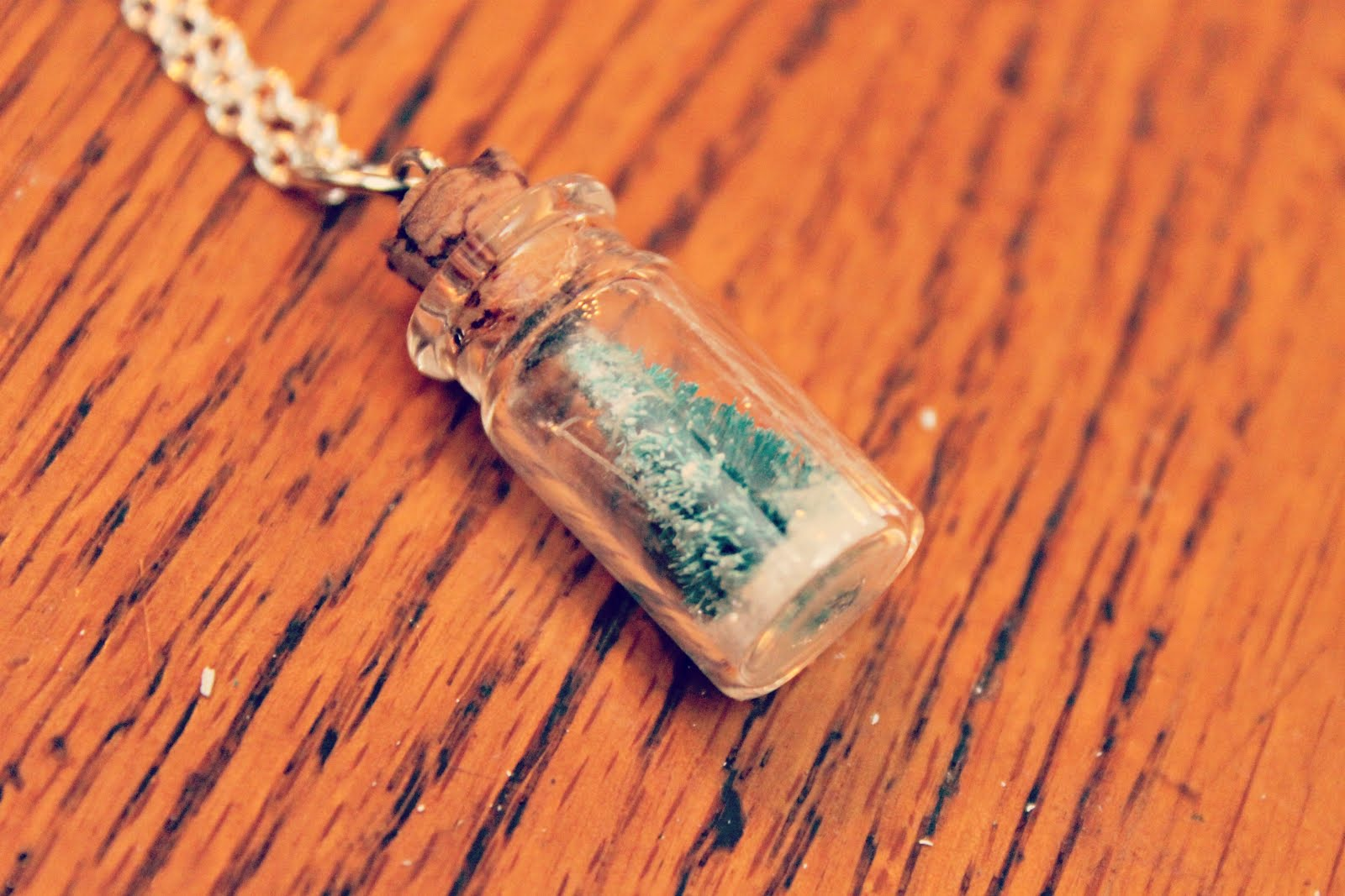 Handmade Gift Idea Super Cute Snow Globe Necklace Tutorial Perfect For Christmas Gifts And
