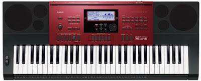 dan organ Casio CTK-6250
