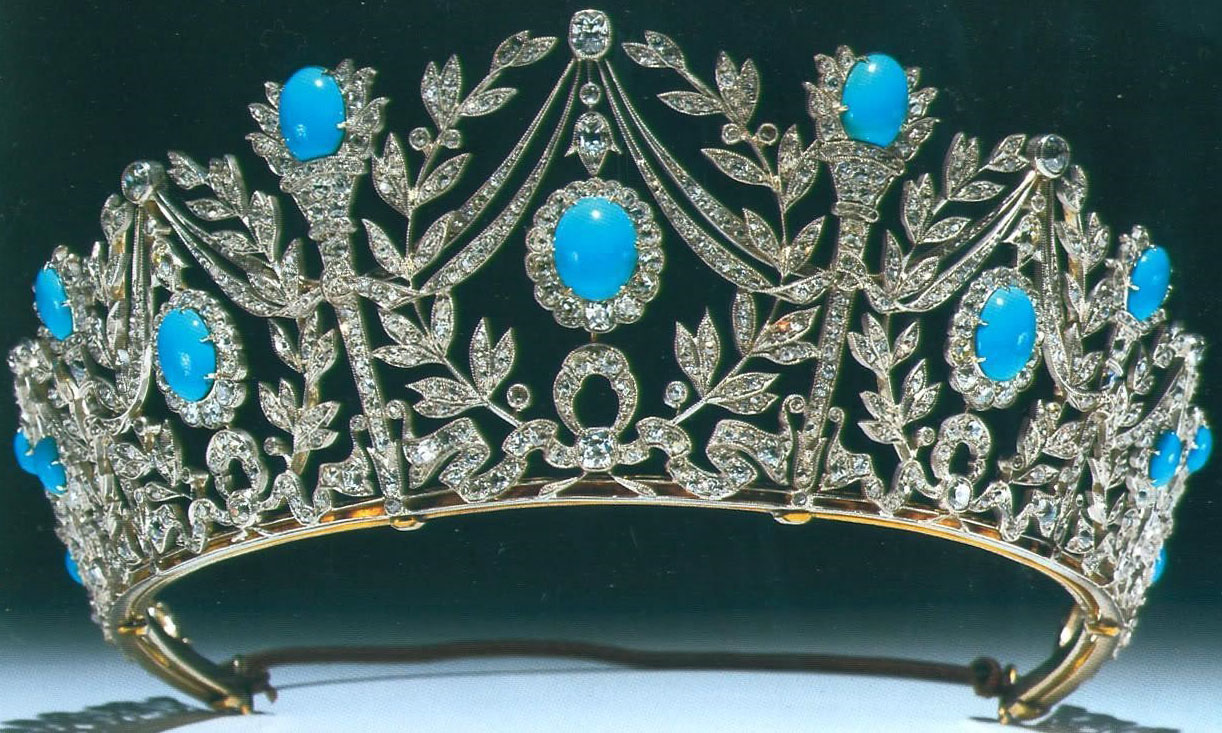 Tiara Mania Queen Elizabeth Of The United Kingdoms Turquoise Tiara