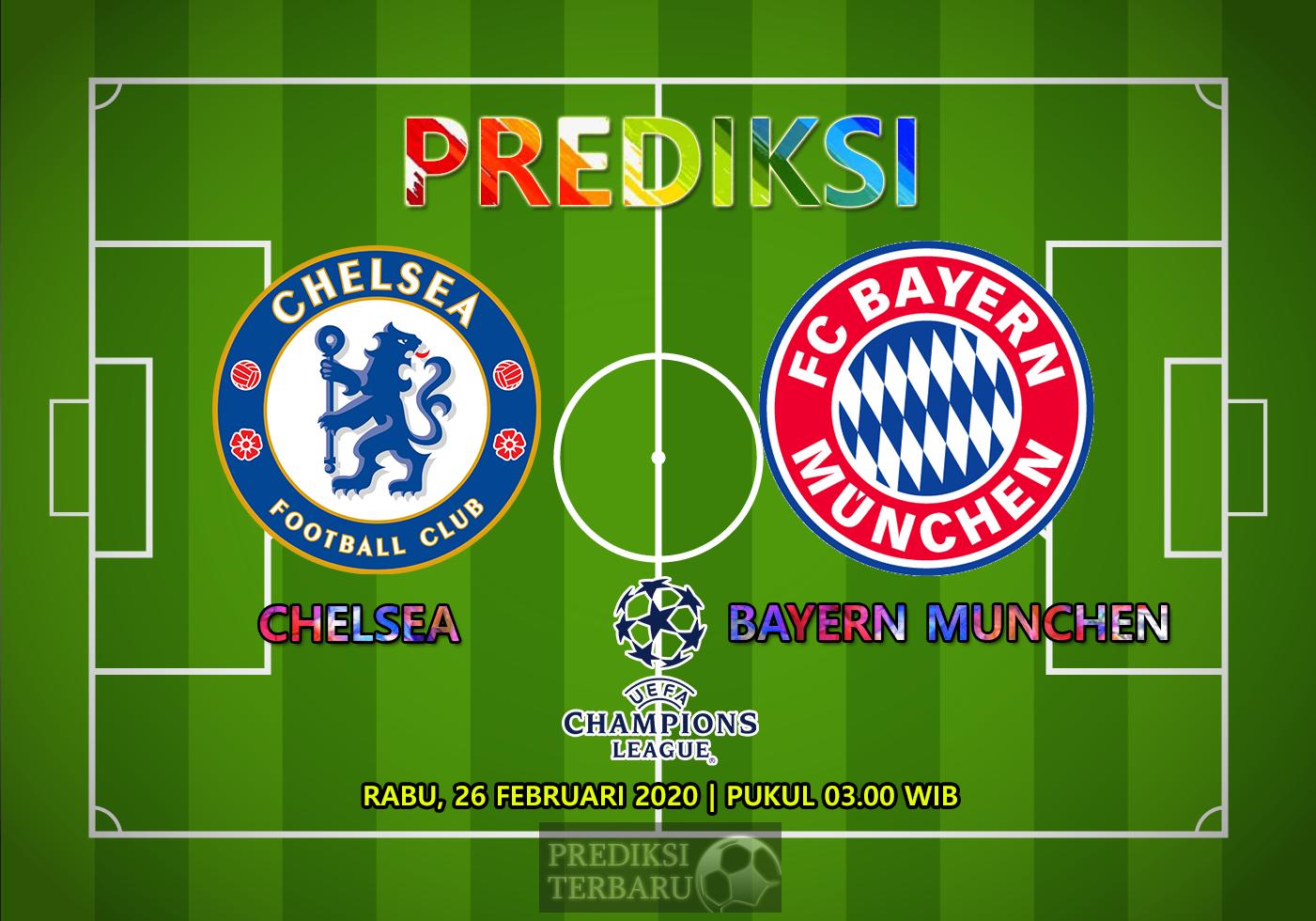 Prediksi Chelsea Vs Bayern Munchen, Rabu 26 Februari