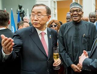 Jim Yong Kim and Buhari