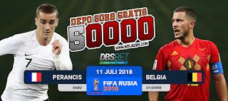 perancis vs belgia piala dunia 11 juli 2018