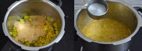 Chow Chow Poricha Kootu Recipe