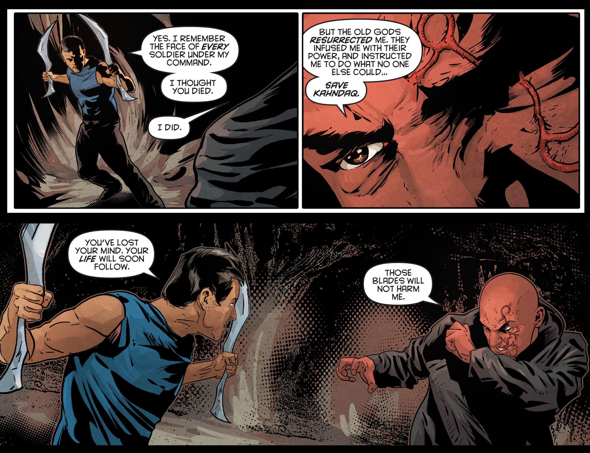 Read online Arrow: Season 2.5 [I] comic -  Issue #12 - 19