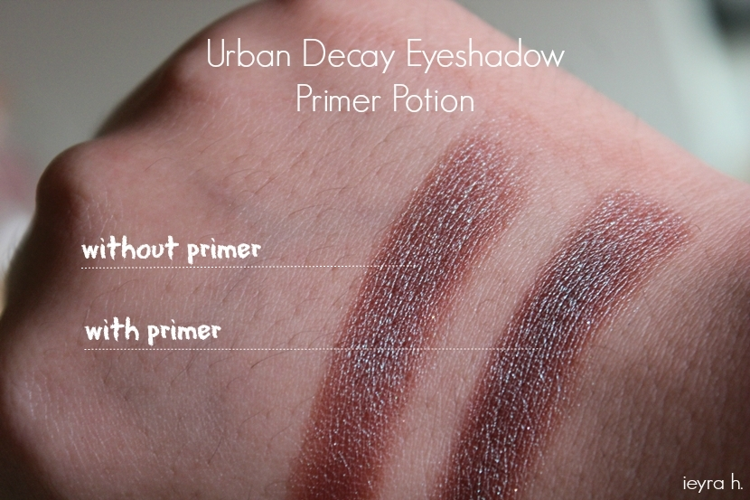 Review Urban Decay Eyeshadow Primer Potion Ieyra H