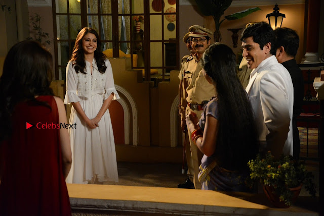 Saumya Tandon Aasif Sheikh Anushka Sharma Shubhangi Atre and Rohitash Gaud on the sets on Bhabhi Ji Ghar Par Hai  0001.JPG