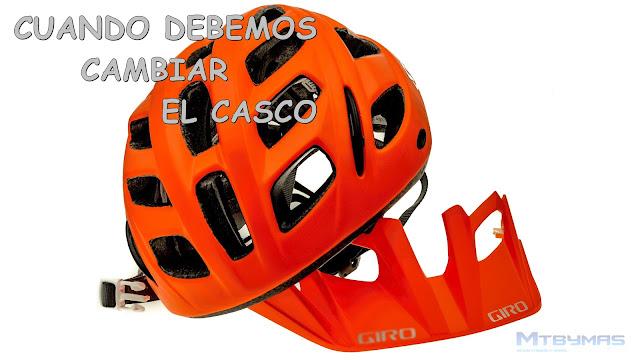 CUANDO DEBEMOS CAMBIAR EL CASCO