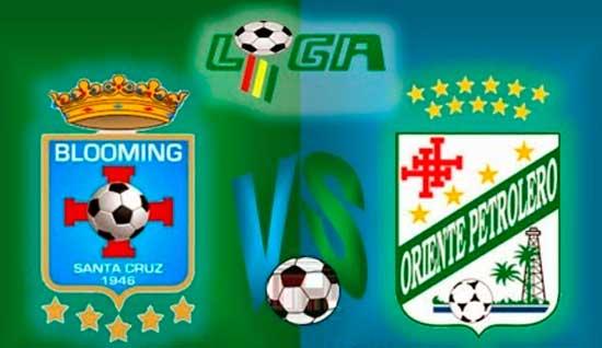 En vivo Blooming vs. Oriente Petrolero - Fecha 13 - Torneo Apertura LPFB