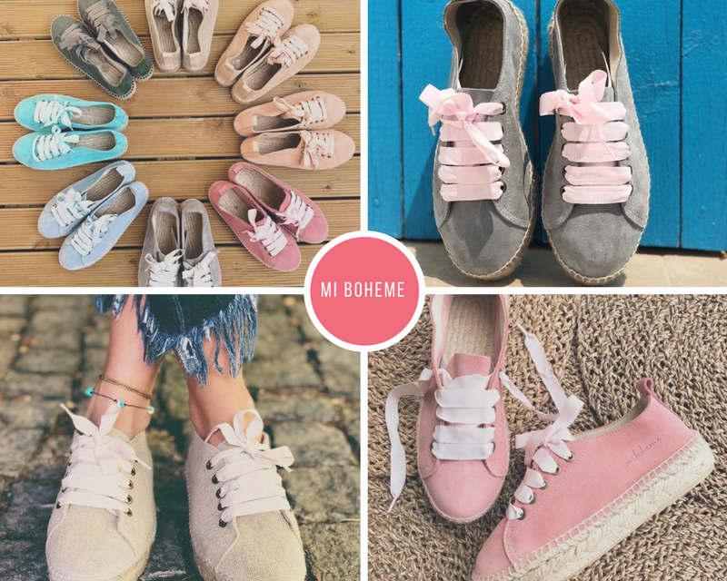 espadrilles alpargatas de cordones sneakers de yute para la primavera verano summer style