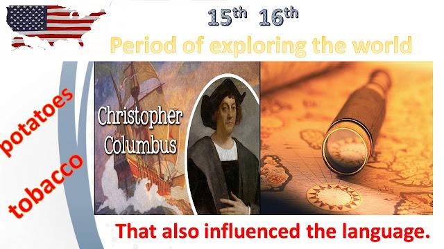عصر الإستكشاف وتطور اللغة الإنجليزية