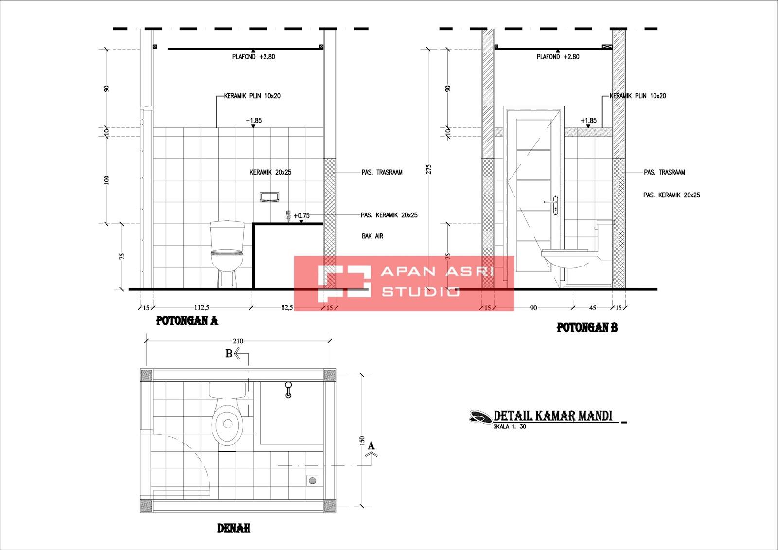 rencana renovasi rumah minimalis 1 lantai dengan luas