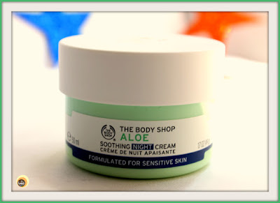 Review of The Body Shop Aloe Soothing Night Cream For sensitive skin