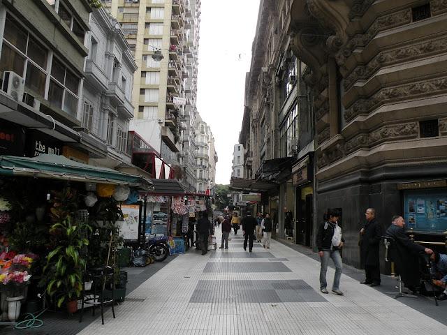 Passeio pela Calle Florida em Buenos Aires