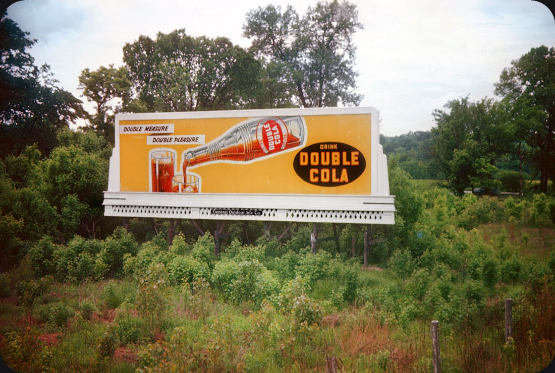Billboards from Nashville, Tennessee in late 1940s ~ vintage everyday