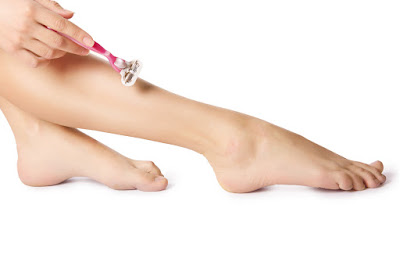 shave legs with less irritation
