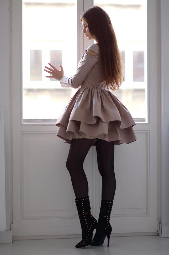 Pantyhose Prom Dress