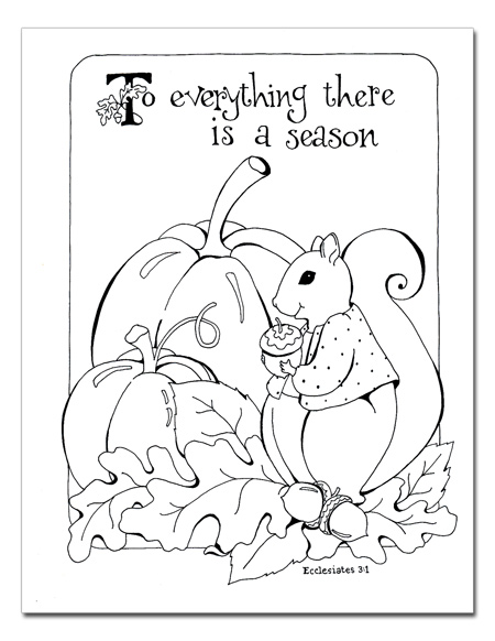 god made the seasons coloring pages - angels of heart 10 coloring pages of thanks