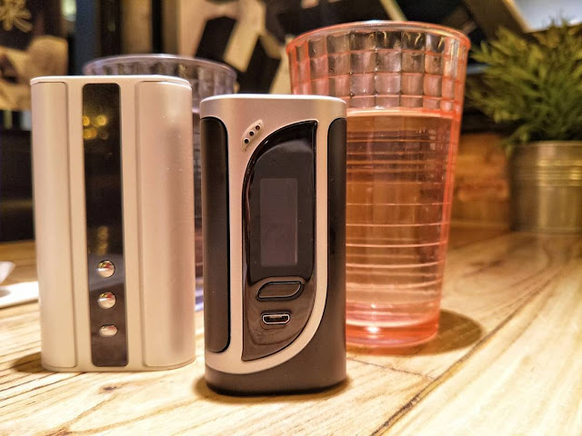 Similarity Between Eleaf iStick TC 100W And iKonn 220W