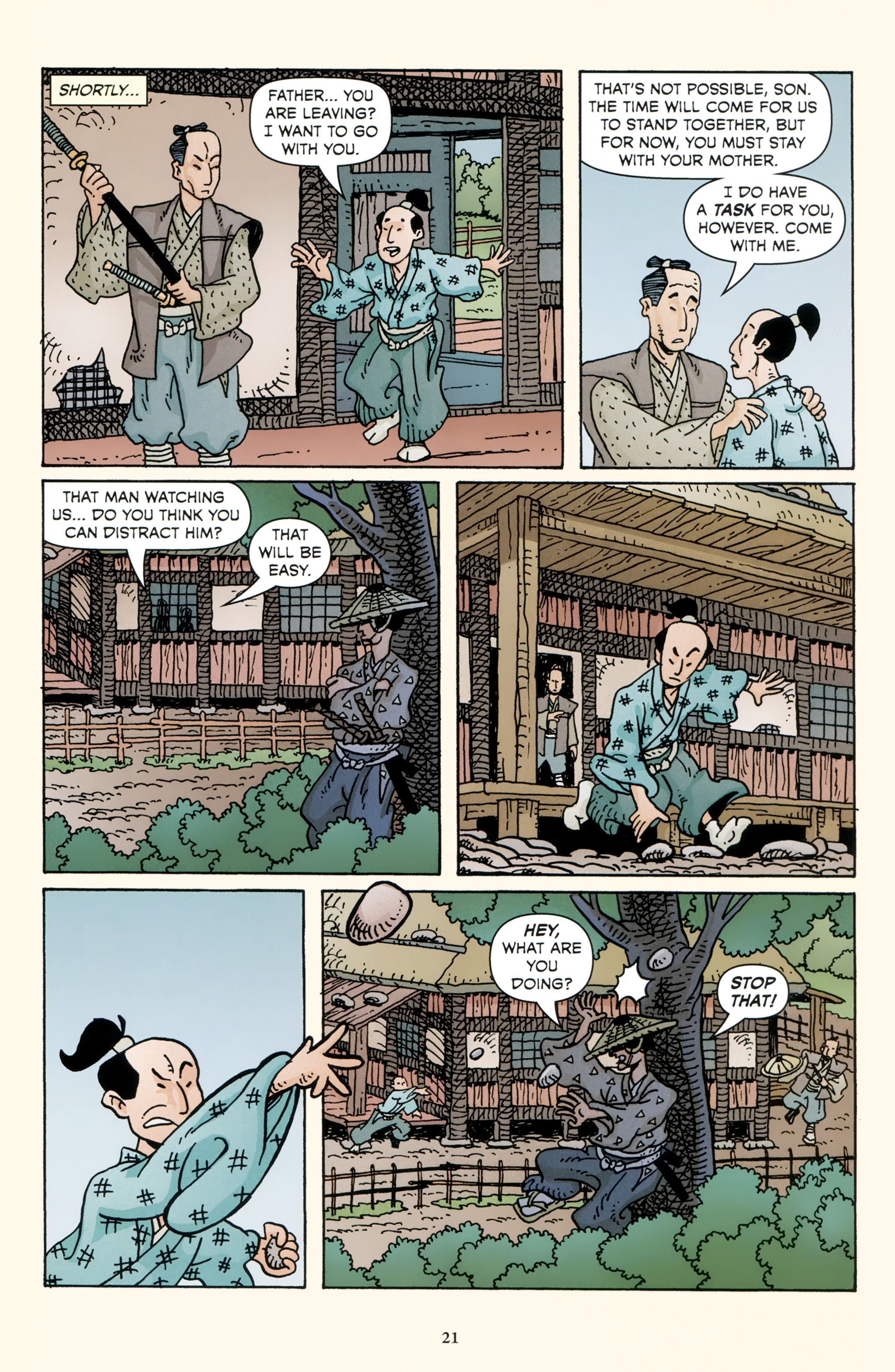 Read online 47 Ronin comic -  Issue #3 - 23