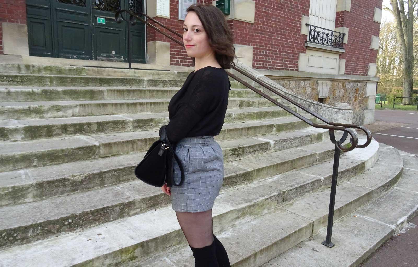 Look : Les chaussettes hautes