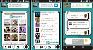 BBM Ciben - BBM Mod untuk Android dengan Tampilan Unik