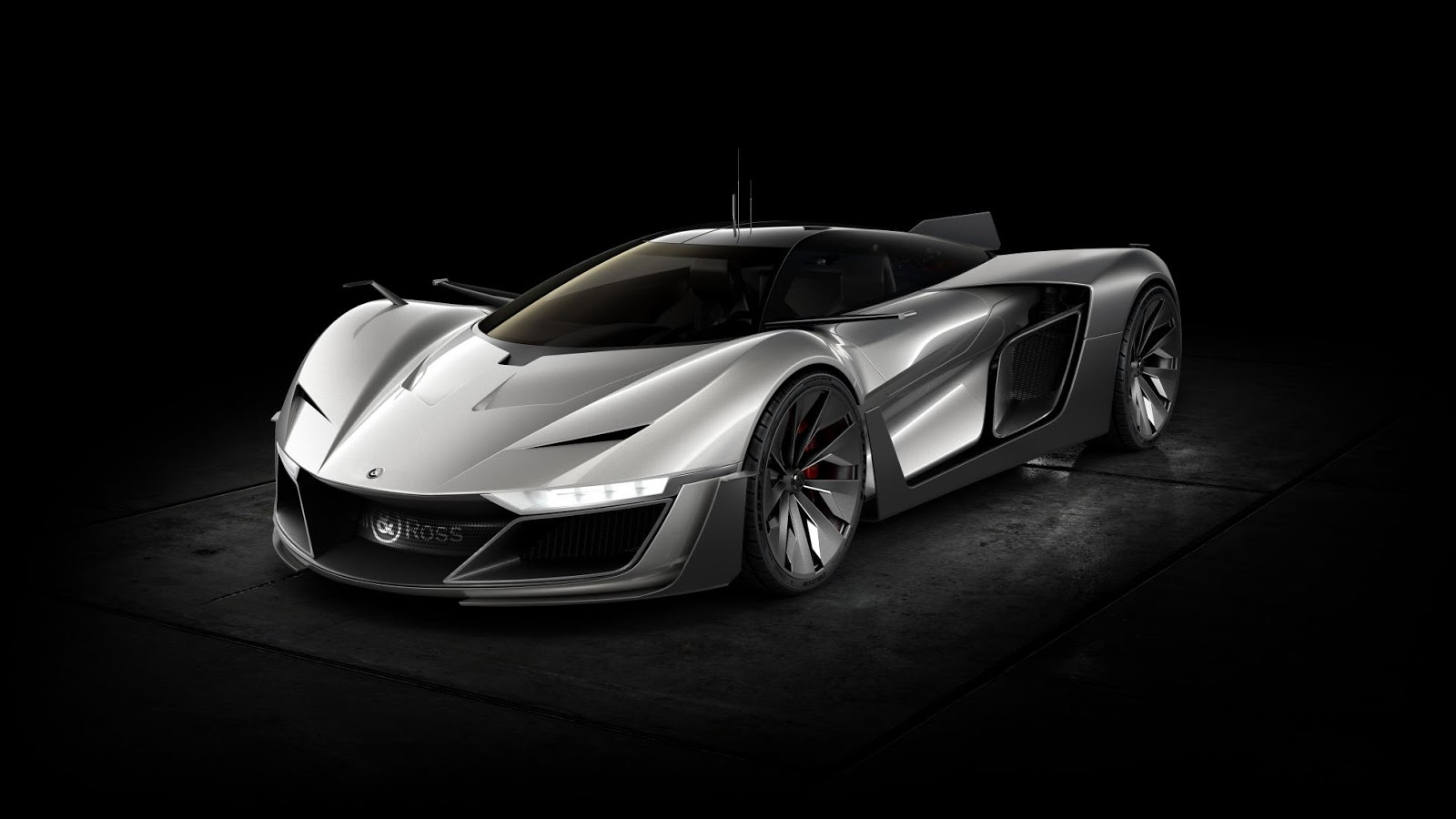 Siêu xe Aero GT Concept có thiết kế rất ấn tượng và hiện đại