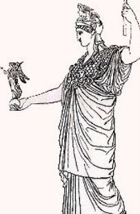 La diosa Nike y Atenas