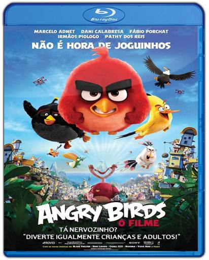 Baixar Angry Birds O Filme 720p Dual Áudio Bluray Torrent