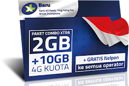 Ragam Paket Internet 4G Xl Combo Xtra Banyak Bonus