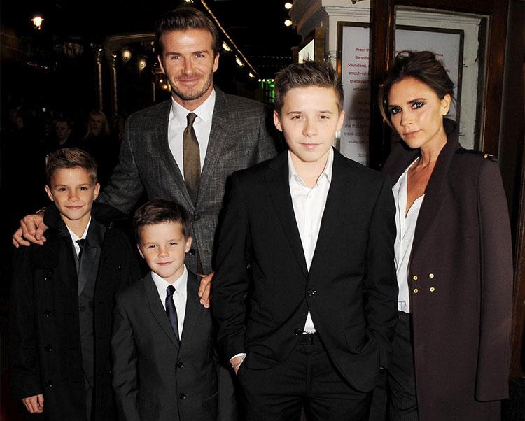 David Beckham Victoria bechkam the secret ofa happy life