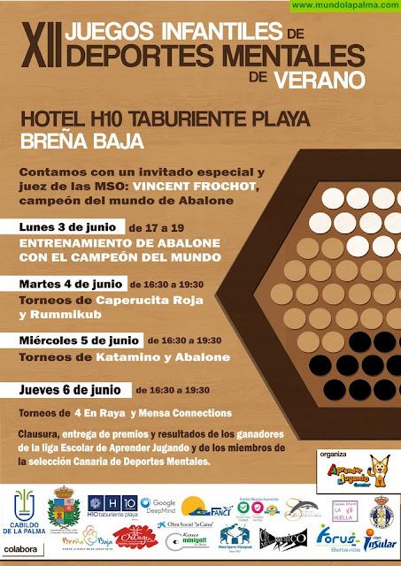 XII Juegos Infantiles de Verano en el Hotel H10 Taburiente Playa
