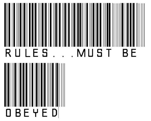Aturan harus diikuti