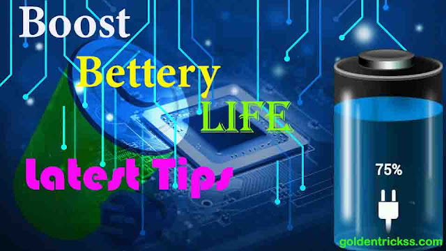 boost battery life