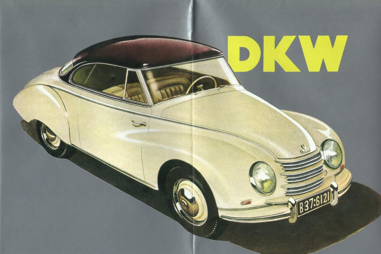 1953 DKW Meisterklasse Brochure