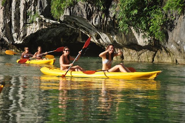 7 fun activities in Ha Long Bay 2