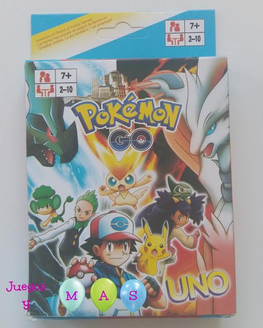 juegos, juegos de mesa, juegos de cartas, uno, pokemon go, 7 años