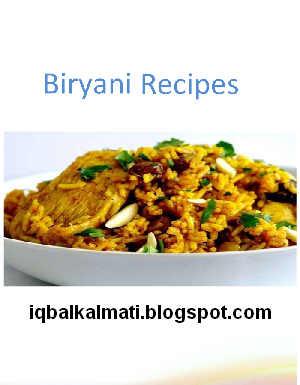 Biryani Recipe Pdf