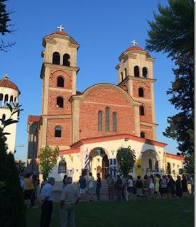 Πανηγύρισε ο πρώτος στην Ελλάδα Ενοριακός Ναός του Αγίου Παϊσίου