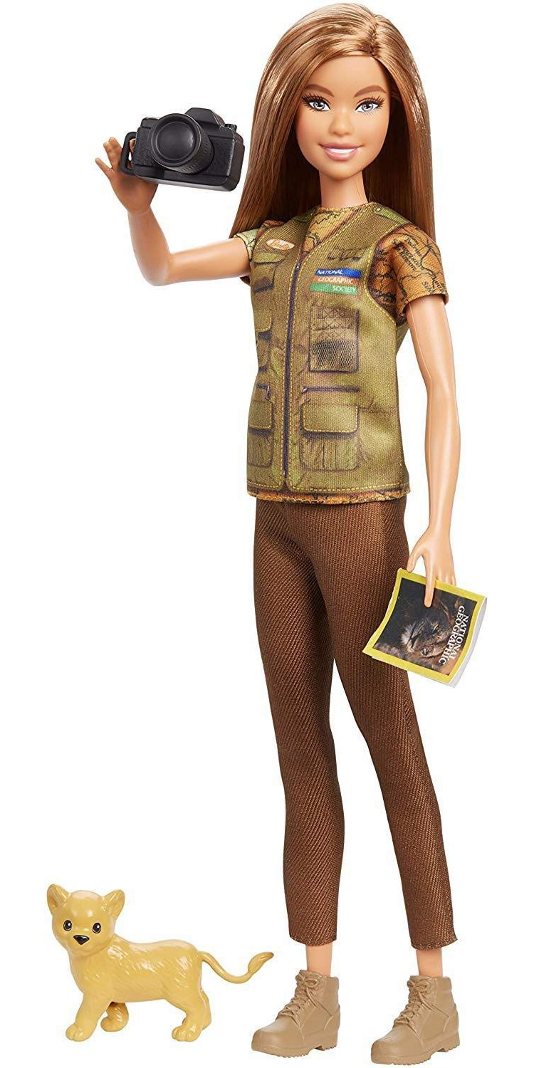 Barbie Partnered With National Geographic As Its New Photojournalist