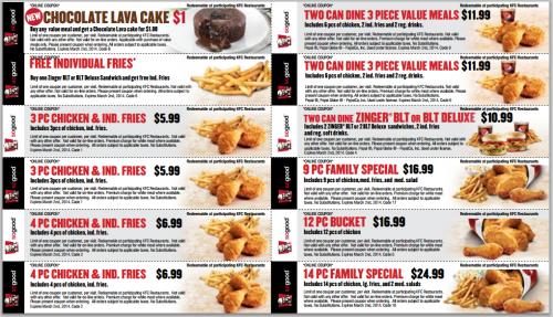 kfc coupons 2015 sydney - photo#9