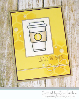 What's the Buzz card-designed by Lori Tecler/Inking Aloud-stamps from Honey Bee Stamps