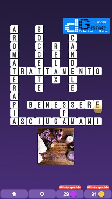 Soluzioni One Clue Crossword livello 23 schemi 15 (Cruciverba illustrato)  | Parole e foto