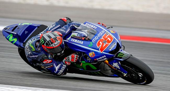 FP1 Silverstone: Geser Lorenzo, Maverick Vinales Keluar Sebagai Rider Tercepat